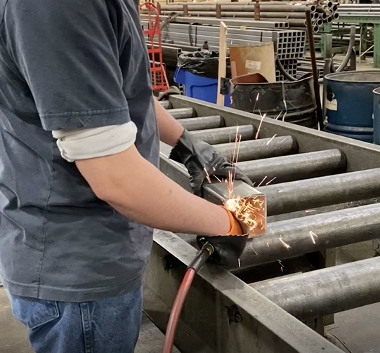 Boyer Steel De-Burring